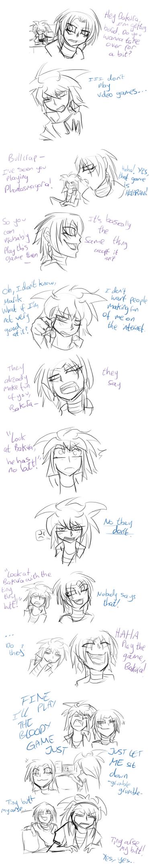 Bakura Plays Bloodlines by 0Abarai0