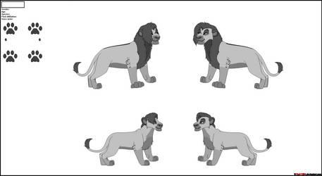 Commission for Wolfiish 74 [Tsavo Lion]