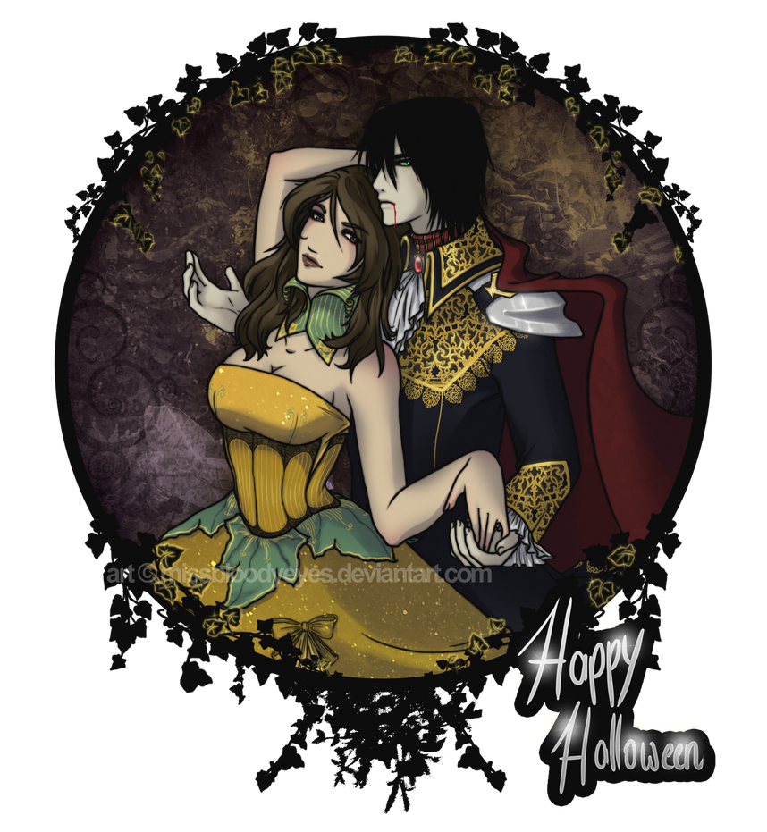 Anime King And Queen Pumpkin queen and vampire king