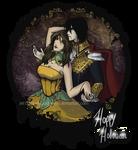 Pumpkin Queen and Vampire King