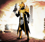 Commission: Osiris Warlock