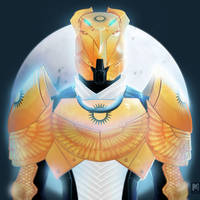Commission: Osiris Titan by MissBloodyEyes