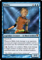 Rikku, MtG'd