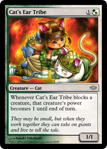 Mtg Cat S Ear Tribe