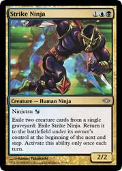 MtG'd Strike Ninja by eternaldeath09