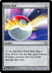MtG'd Poke Ball by eternaldeath09