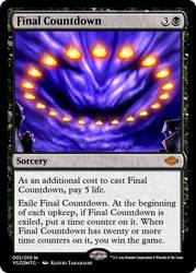 YGO to MtG: Final Countdown by eternaldeath09