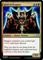YGO to MtG: Lord of Dragons by eternaldeath09