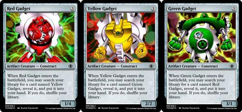 YGO to MtG: Gadgets by eternaldeath09