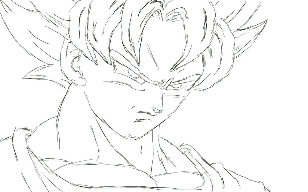 50 Imágenes De Goku Para Dibujar: Goku Dibujado By AgoraDx On DeviantArt