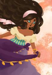 Esmeralda by TinaDrawS