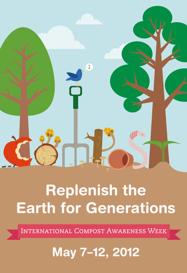 Compost Awareness Week 2012 Poster by lain56