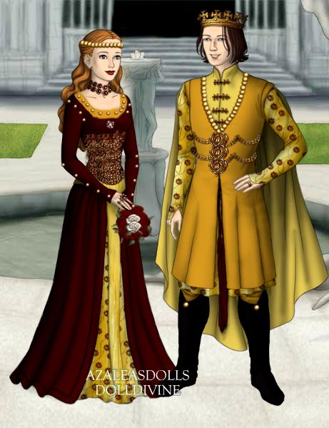 Elizabeth of York and Henry VII by kaybay2323 on DeviantArt