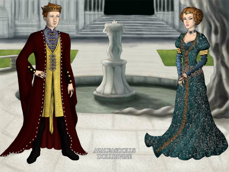 Henry II and Eleanor of Aquitaine. by kaybay2323