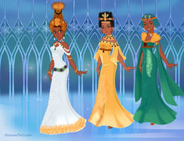 Three generations of Queens by kaybay2323