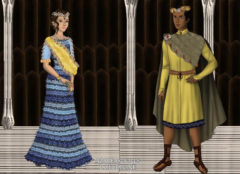 cleopatra selene and juba ii of numidia by kaybay2323 on