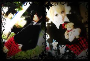Natsume and Ruka by AROSXUKIR
