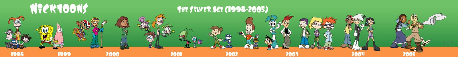 The Silver Age of Nicktoons by jbwarner86