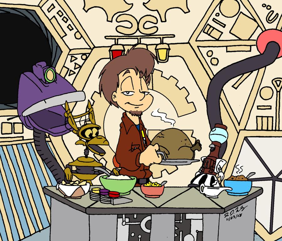 Happy Turkey Day by jbwarner86