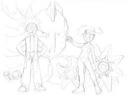 SketchDump16 - Let's Hit the Gym by jbwarner86