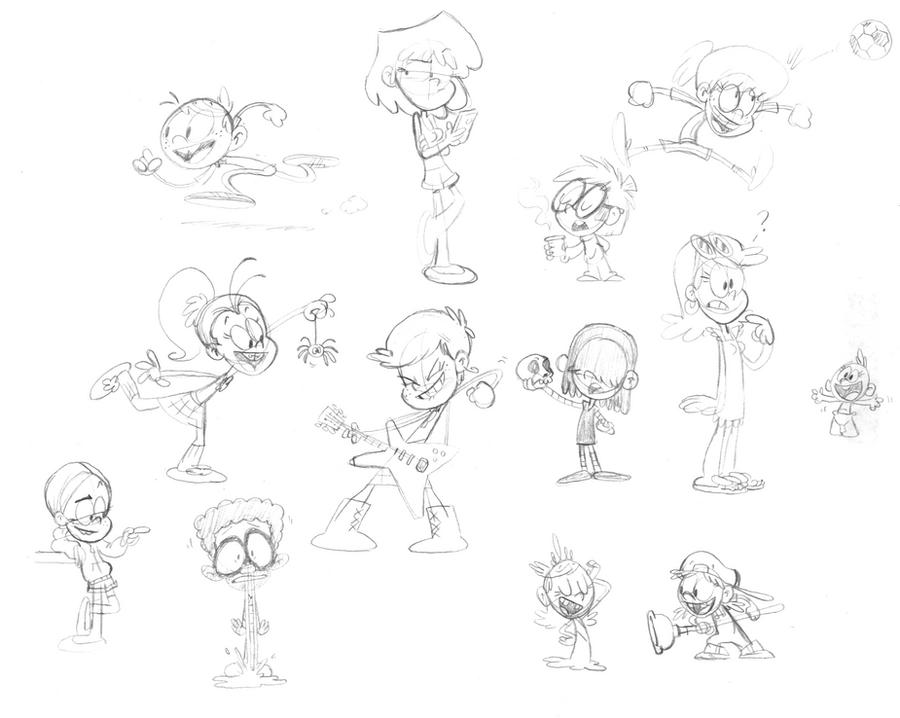 Duck, Dodge, Sketch, and Shove by jbwarner86