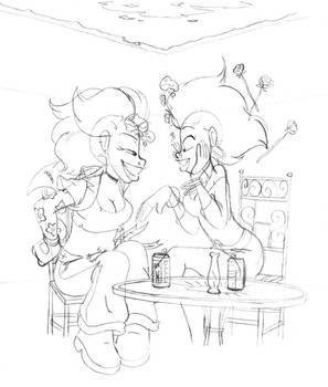 SketchDump 2019 - Bubbly Conversation