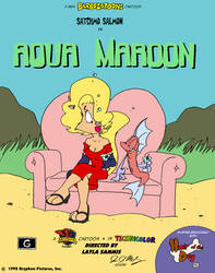 Aqua Maroon