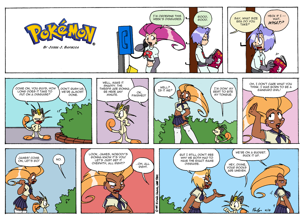 Pokemon Comics - 10.19.97 by jbwarner86