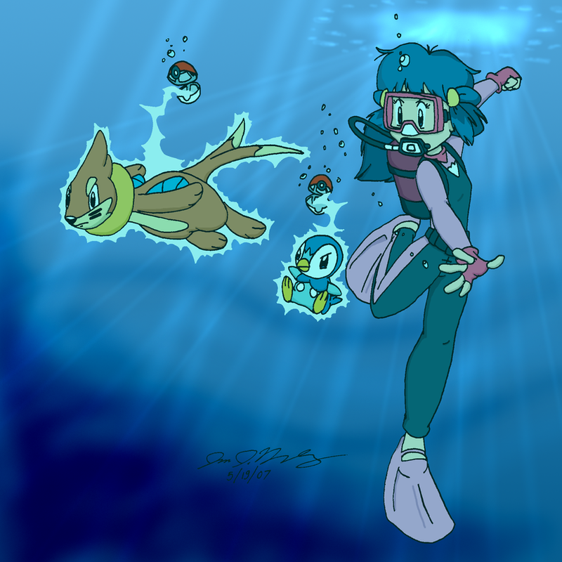 Diving With Dawn by jbwarner86 on DeviantArt