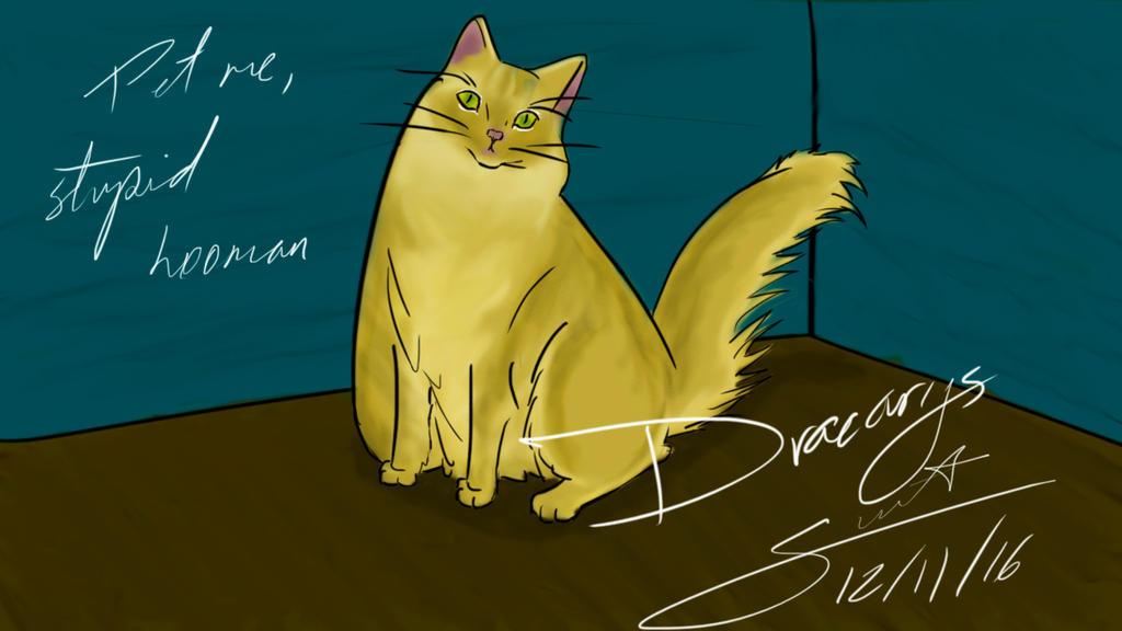 Dracarys - Pet me, stupid hooman by SonicBFitch