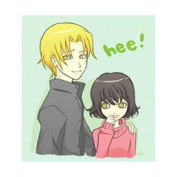 Jasper x Alice : Hee