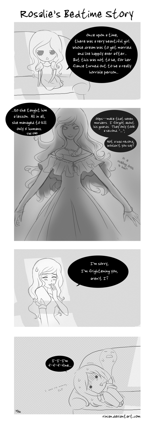 Rosalie's Bedtime Story by Rinian