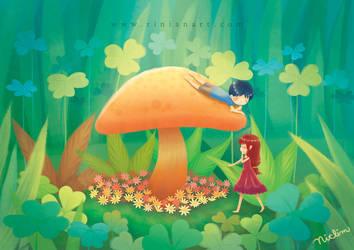 Hidden Garden by Rinian