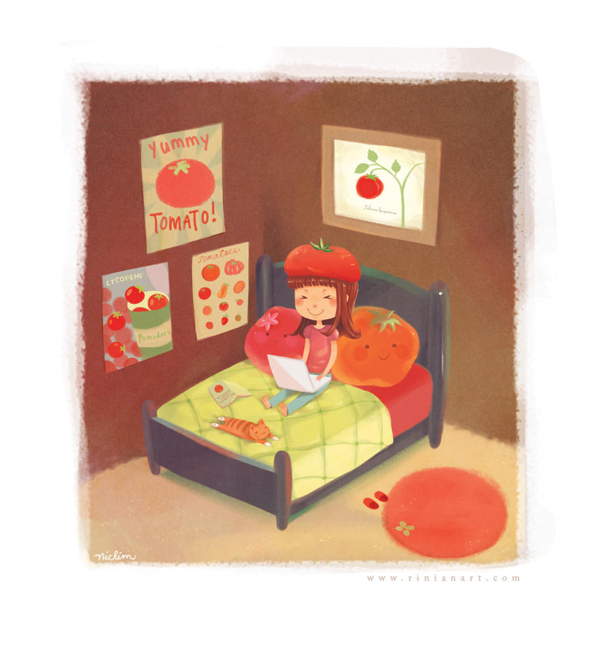 A Tomato Fangirl by Rinian