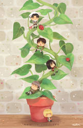 Attack on Beanstalk by Rinian