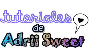 Texto PNG: Tutoriales de Adrii Sweet by ByyCaami