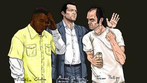 GTA V Three guys virtual