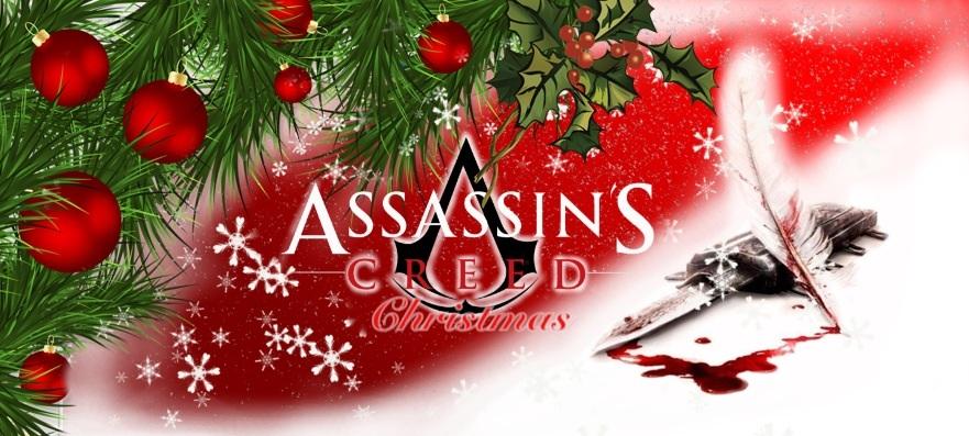 Assassin's Creed Christmas banner by NagareStar on DeviantArt