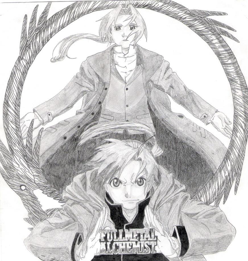 Fullmetal Alchemist poster by HellsKitten