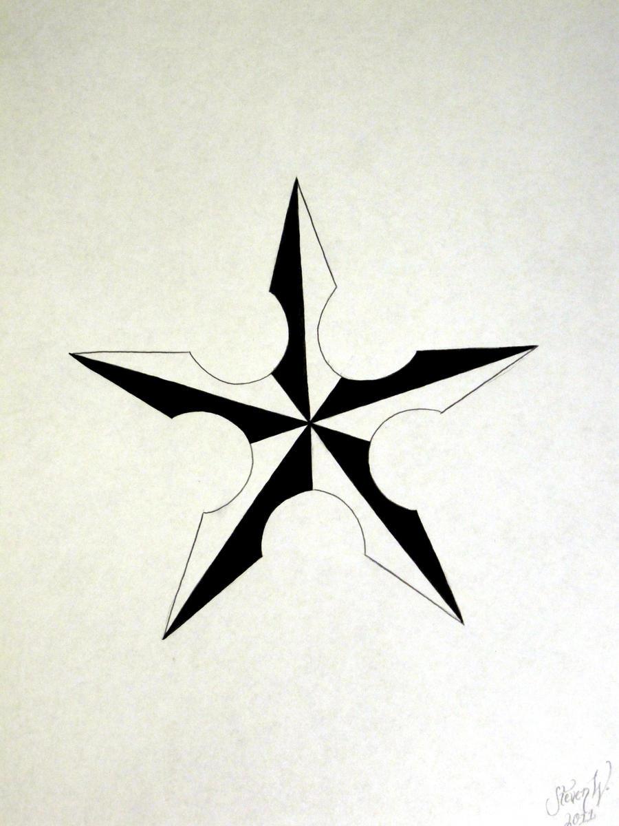 nautical shuriken by stevenworthey on deviantart