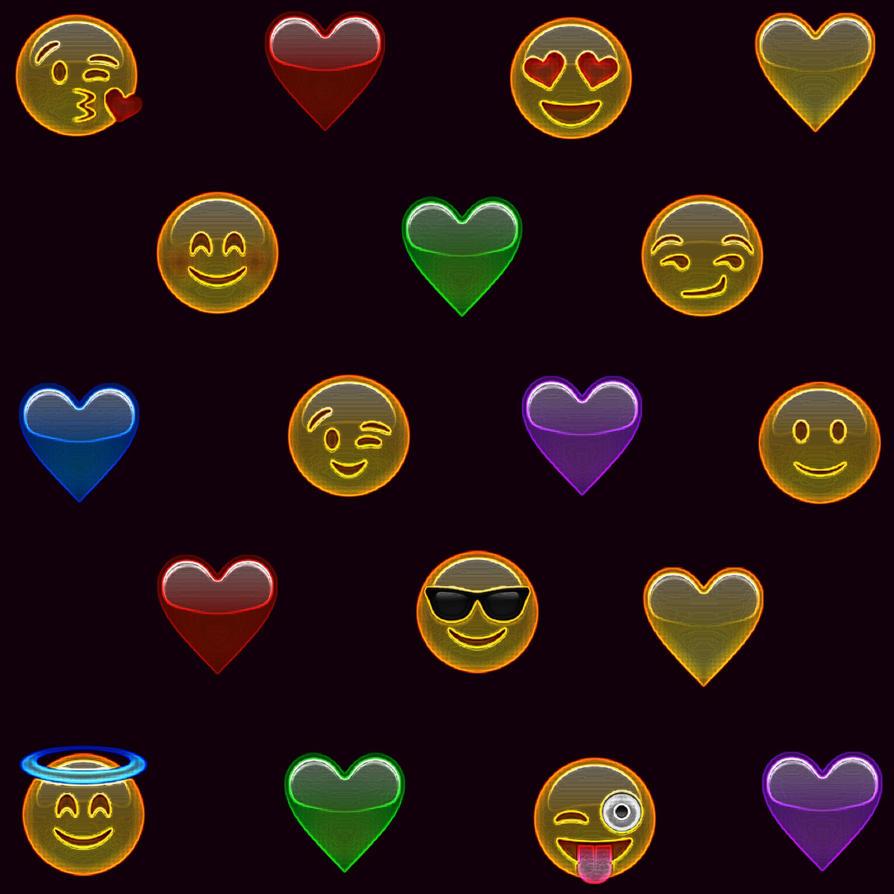 Emoji Wallpaper By Lizettecardona