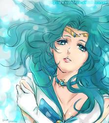 Michiru Sailor Neptune by Char-coal