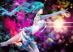 Diving in Melodies-Miku Append