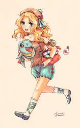 Pokemon Trainer Layla by Char-coal
