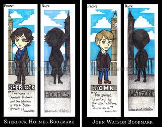 Sherlock BBC Bookmarks by VincentChan