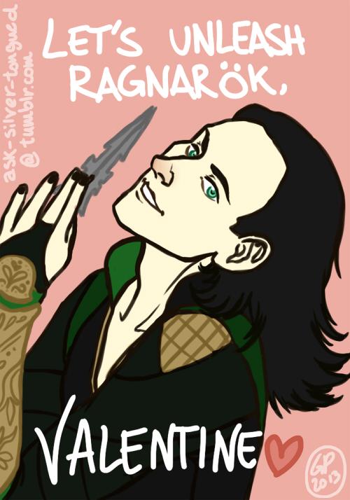 Let's unleash Ragnarok, Valentine. by VincentChan