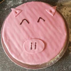 Piggliewig Cake