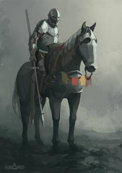 Ludavus, mounted knight
