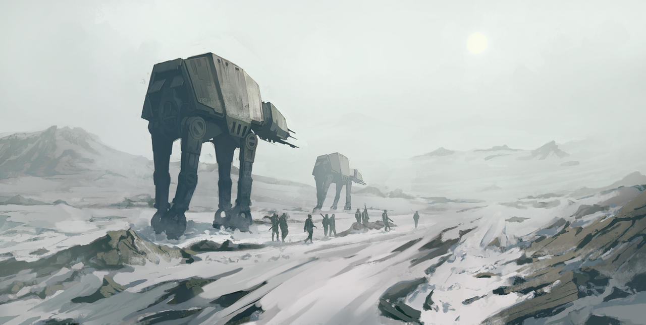 Star Wars - Hoth by QuintusCassius