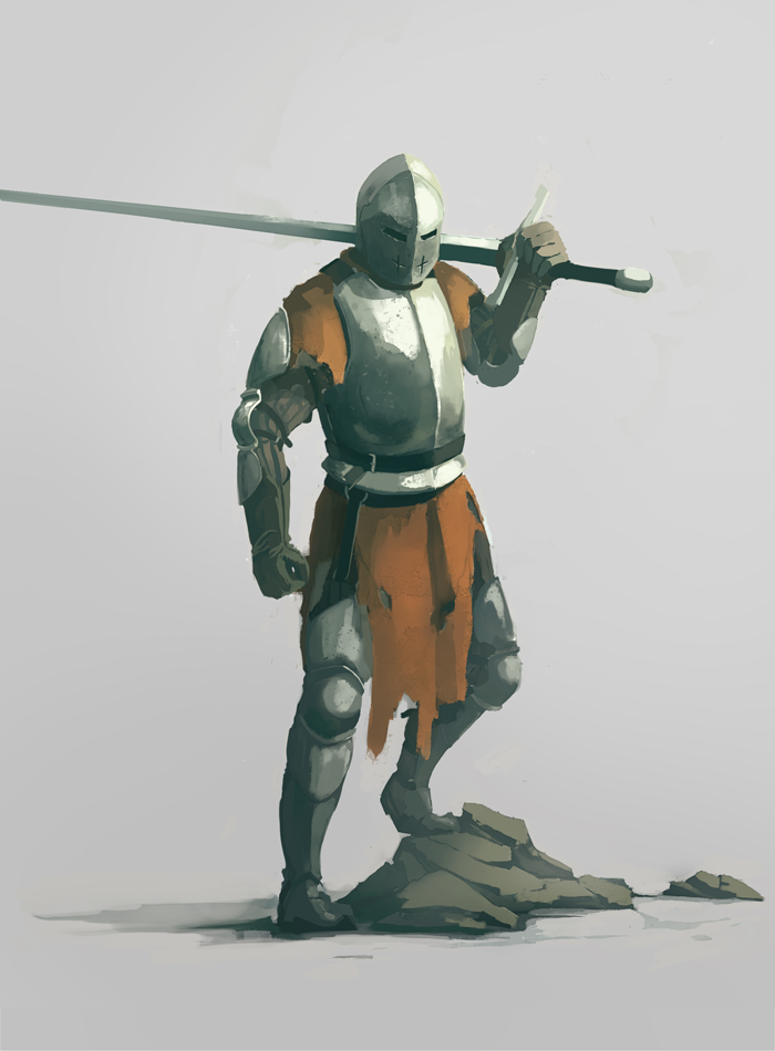 Knight concept art  |  2016 by QuintusCassius